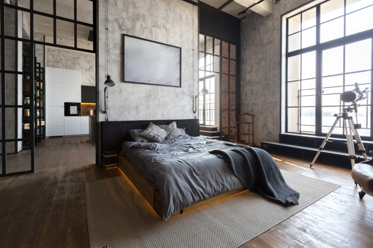Bedroom space design#grey#neutral paint color#home interior ideas#specify your design
